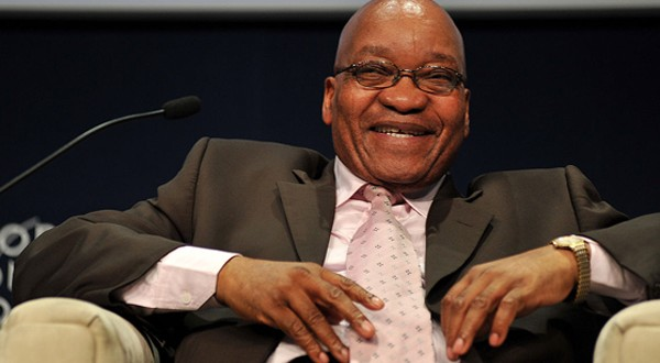Laughing President: The Real Reason Jacob Zuma Can't Stop Smiling