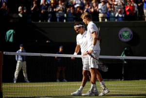 Federer and Anderson