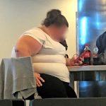 an overweight american girl