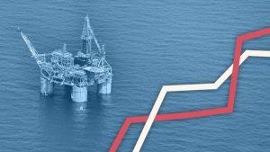 European stocks edge lower while oil climbs
