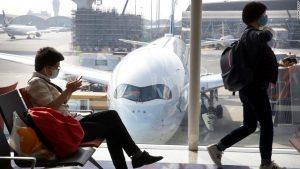 US airline stocks down on coronavirus fears