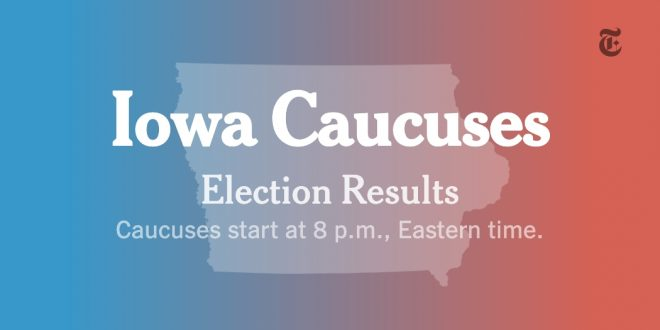 Iowa Caucus Results: Live