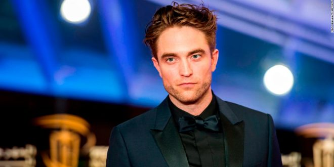 A brief look at Robert Pattinson as Batman