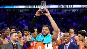 MVP Miles Bridges leads U.S. over World in Rising Stars Challenge