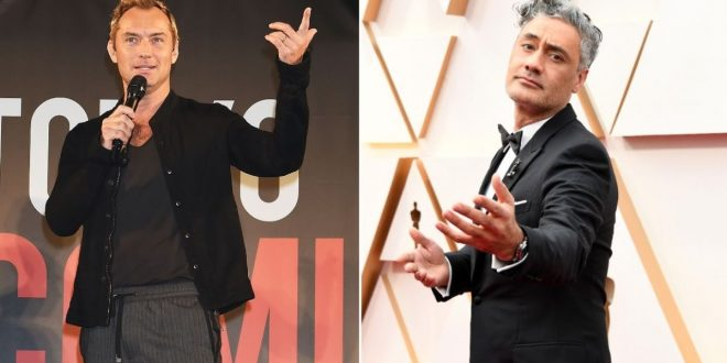Jude Law and Taika Waititi are teaming up to really stick it to Hollywood auteurs