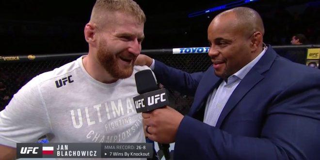 UFC Rio Rancho: Jan Blachowicz Octagon Interview