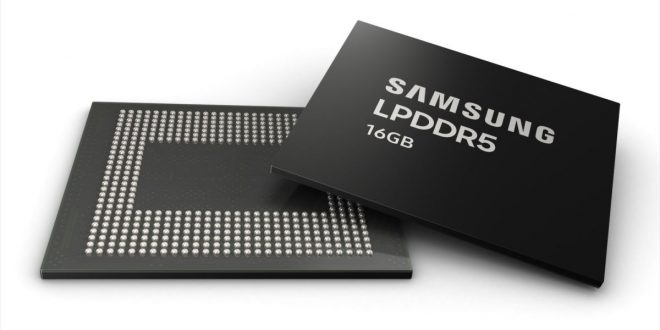 Samsung's new chips usher in smartphones with 16GB of DRAM