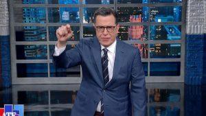 Colbert remixes Sanders' debate line with '90s rap