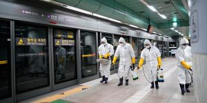 Coronavirus: South Korea reported more than 800 new cases in a day