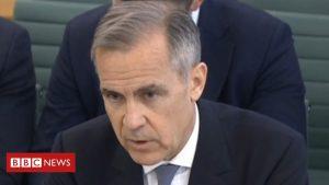 Coronavirus: Mark Carney warns of 'large' short-term economic shock