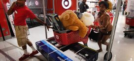 Target shares fall on mixed fourth-quarter results, but company touts same-day e-commerce growth
