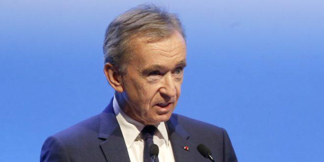 Europe's richest man gains $18b amid virus seesaw