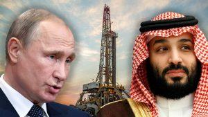 Oil plunges after Saudi Arabia, Russia talks stall