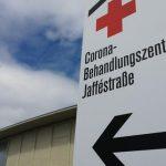 Umbau einer Messehalle zu Berlins Covid-19-Zentrum gestartet