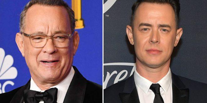 Tom Hanks' son Colin shares tutorial on how to turn kerchiefs into coronavirus masks