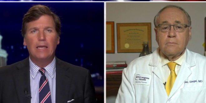 Dr. Marc Siegel takes rapid COVID-19 test live on 'Tucker Carlson Tonight'