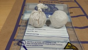 Two arrested after drugs seized at virus checkpoint