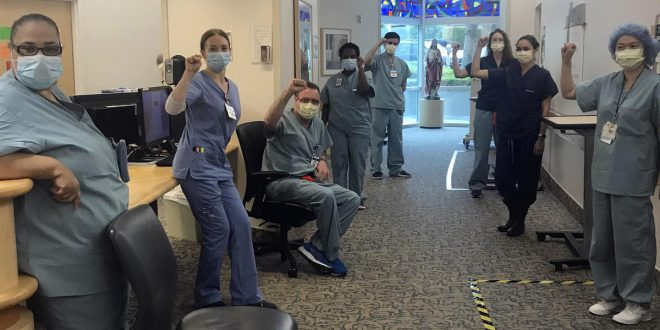 Nurses suspended for refusing to provide COVID-19 care without N95 masks