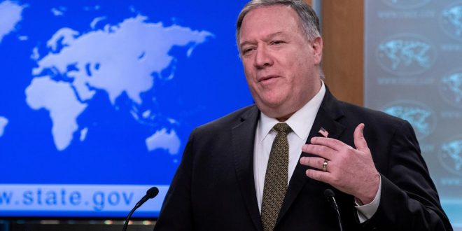 Pompeo says U.S. may never restore WHO funds after cutoff over pandemic