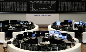 Global stocks fall on worries over EU stimulus details, coronavirus drug
