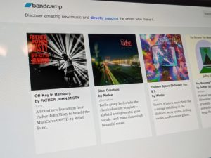 Bandcamp is waiving fees today in support of artists