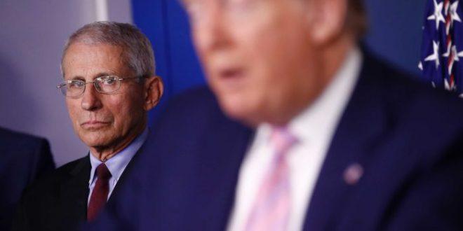 White House blocks Dr Anthony Fauci from testifying to Congress on coronavirus response