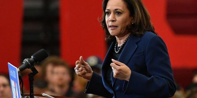 Kamala Harris proposes monthly income boost for Americans during COVID crisis