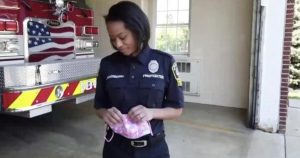 Super mom juggles being a firefighter, frontline health care worker and mother