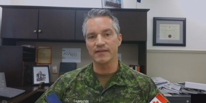 Canadian Forces members test positive for COVID-19