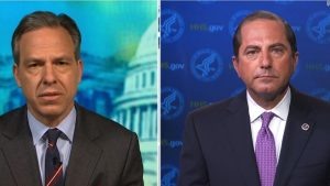 Jake Tapper to Alex Azar: This is nothing to celebrate