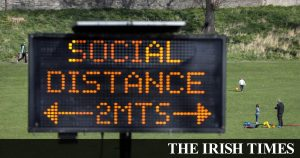Covid-19: Taoiseach insists no change from two metre social distancing advice