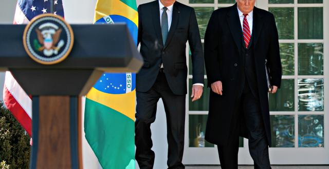President Trump Suspends Travel from Brazil over Coronavirus Concerns