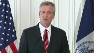 De Blasio claims spike in COVID-19 hospitalizations not linked to massive protests