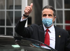 Gov. Andrew Cuomo says New York's 'mojo's back' as coronavirus cases fall and NYC begins reopening