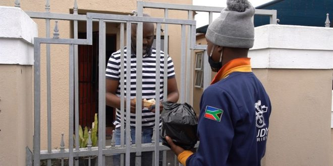 WATCH | Bicycle delivery service hits the road just in time for lockdown in Langa township | News24