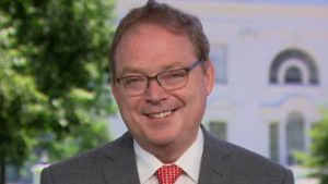 White House economic adviser reacts to fed chair warning of long road to recovery