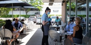 For Waitstaff, the Theater of Dining Out Meets the Reality of Covid-19
