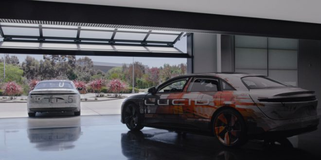 Lucid Motors to begin producing Air electric vehicles for customers in early 2021