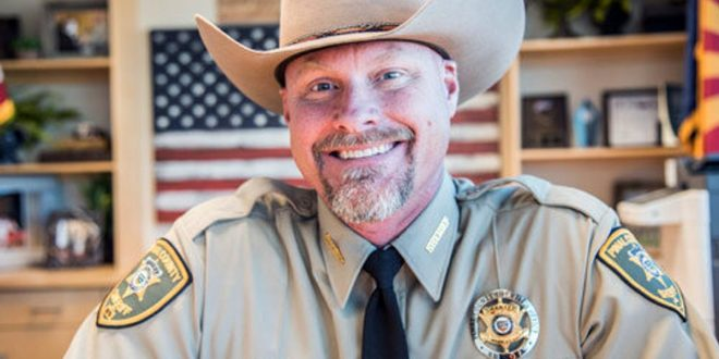 GOP Sheriff Who Refused To Enforce Coronavirus Lockdown Tests Positive At White House