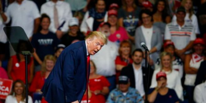 Trump Insisted At His Tulsa Rally That He Can Use A Ramp