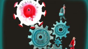 Investors get lessons on COVID-19 pain and possibility