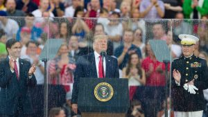 Trump to give July 4th address at scaled-back White House party as coronavirus cases spike