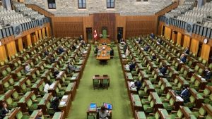 MPs reviewing virtual voting options to bolster COVID-19 Parliament   CBC News