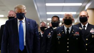 Coronavirus updates: Daily US death toll rising after falling for months; Vatican warns shipowners; Trump wears a mask